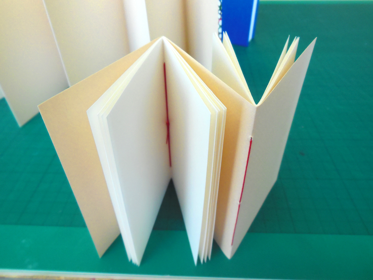 double sided book