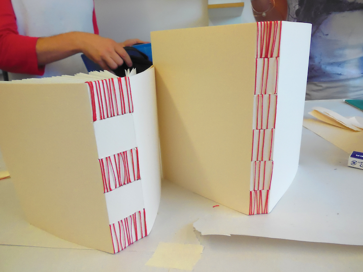 Long-stitch books