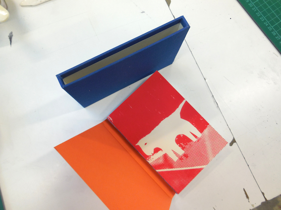 Swiss binding with slipcase